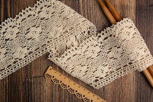 Knitted Openwork Linen Ribbon ...