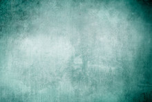Old Green Grungy Backdrop Or T...