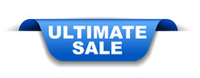 Blue Vector Banner Ultimate Sale