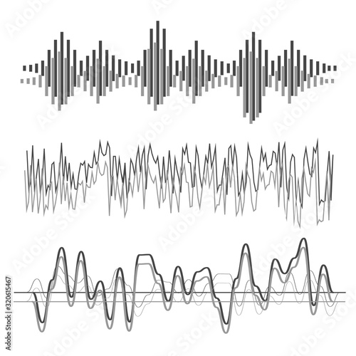 Photo Sound wave forms
