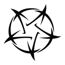 Pentagram - Vector Illustratio...