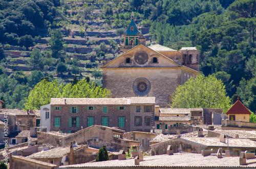 Church in  Valldemossa, Mallorca, Spain