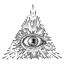 All Seeing Eye Or Eye Of Provi...