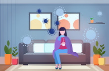Woman Feeling Sickness Epidemi...