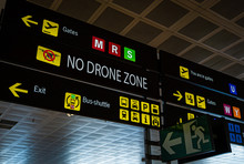 Information Panel With No Dron...