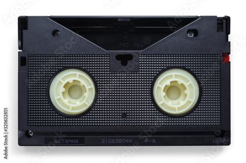 Fototapeta VHS videotapes on a white background
