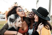 Group Portrait Of Diverse Youn...