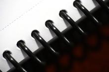 Ring Binder Background Macro - Close Up Ring Binder
