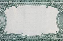 U.S. Dollar Border With Empty ...