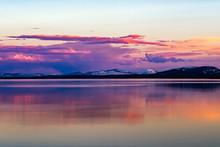 Beautiful Sunset Over Lake Yel...