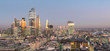City of London, Square Mile, panorama shows completed 22 Bishopsgate tower, London