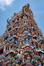 The Highly Decorative Gopuram ...