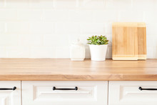 Bright And Clean Kitchen With ...