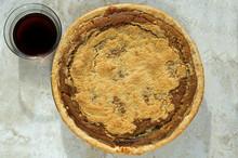 Freshly Baked Shoofly Pie With...