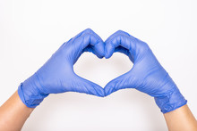 Heart Made Of Latex, Nitrile M...