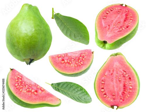 Fotografie, Obraz Isolated guava