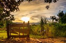 Paisagem Rural - Porteira