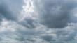 Leinwandbild Motiv dark storm clouds with background,Dark clouds before a thunder-storm.
