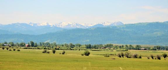Mountains, Yellowstone National Park