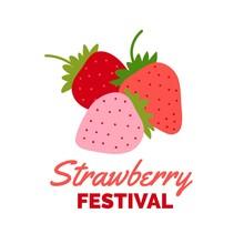 Strawberry Plant Background. S...
