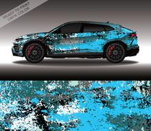 Car Wrap Decal Design Vector, ...