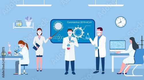 Fotografía Chemical laboratory science and technology coronavirus 2019-nCoV
