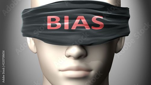 Photo Bias can make things harder to see or makes us blind to the reality - pictured a