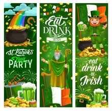 Eat, Drink And Be Irish Motto ...