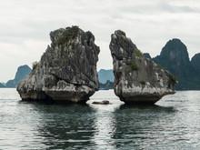 Kissing Rocks, Ha Long Bay , Vietnam