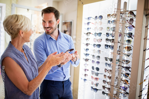 Photo Health care, eyesight and vision concept