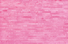 Pink Brick Wall Texture With V...
