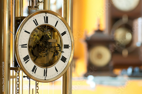 Fotografia Old antique clocks