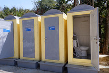 Portable Mobile Toilets Public...
