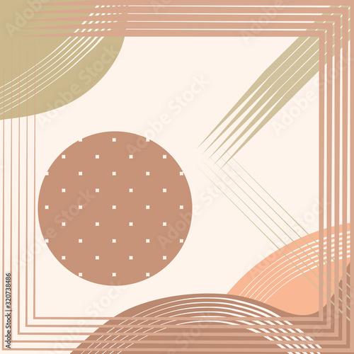 Fototapeta Abstract square print