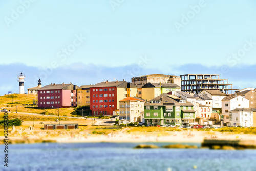 landscape view, in san cibrao lugo, north spain, galicia, spain, europe