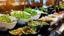 Vegetarian Culinary Buffet. Cu...