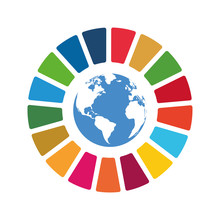 Corporate Social Responsibility Vector Element. Sustainable Development Goals - United Nations Vector Illustration. SDG Color Icon. Pictogram For Ad, Web, Mobile App, Promo. UI UX Design.