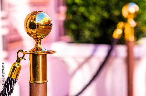 Photo brass pole
