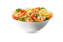 Salad Shrimp Meal