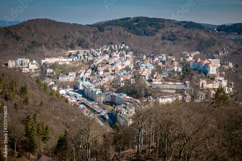 Photo Karlovy Vary view