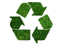 Lush Green Grass Recycling Sym...