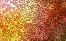 Light Orange Vector Template W...