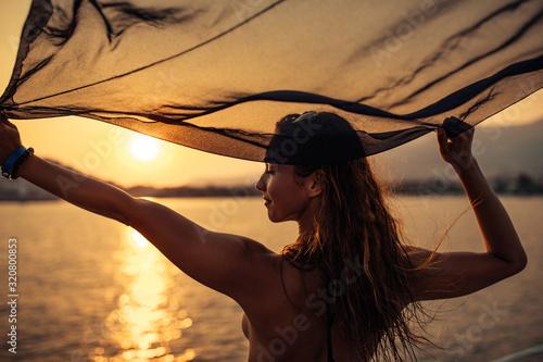Carta da parati Sail wherever your heart takes you