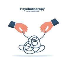 Psychotherapy Concept. The The...