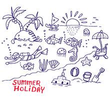 Summer Holiday, Sketch