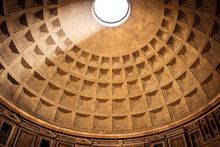 The Dome Of The Pantheon In Ro...