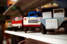 Antique Soviet Toy Car Mechanical For Children