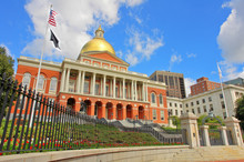 The Massachusetts State House - A State Capitol  For The Commonwealth Of Massachusetts
