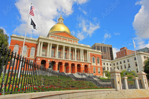 Fotomural The Massachusetts State House - a state capitol  for the Commonwealth of Massach