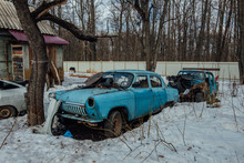 Old Rusty Abandoned Soviet Ret...
